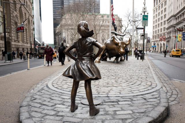 La citation: «Elle est là. Elle attaque le taureau. C'est vraiment mal.» (AP, Mark Lennihan)