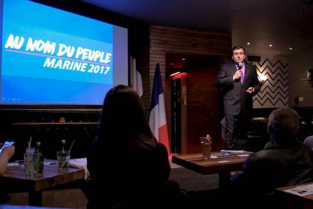 Denis Franceskin, candidat du FN aux législatives pour... (Photo Nathalie Simon-Clerc, collaboration spéciale)