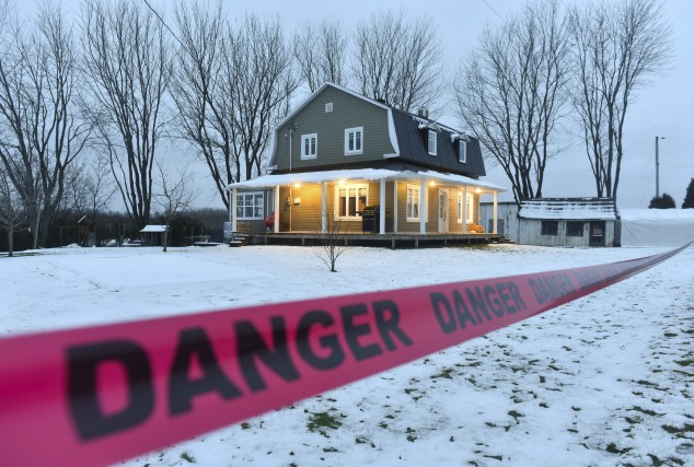 Cette résidence de Sainte-Geneviève-de-Batiscan avait dû être évacuée... (François Gervais)