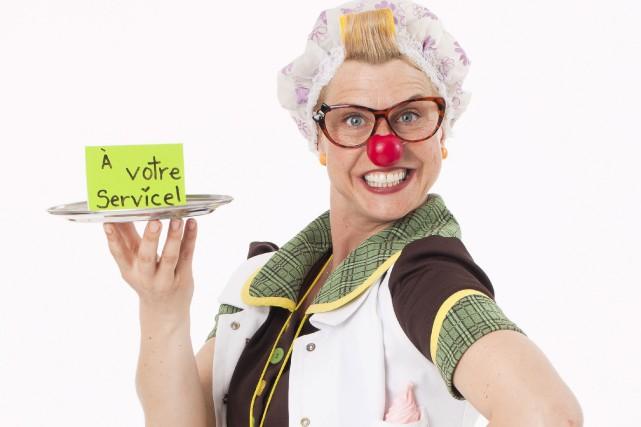 Anik Farley fait le clown depuis 11 ans... (Fournie par Anik Farley)