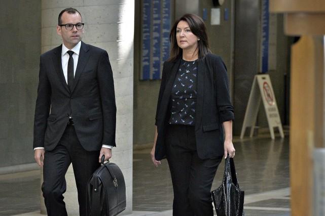 L'avocat de l'ex-vice-première ministre Nathalie Normandeau, Maxime Roy,... (Le Soleil)