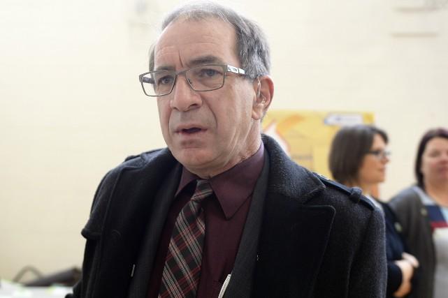 L'ancien président de la Commission scolaire des Rives-du-Saguenay,... (Archives Le Progrès, Jeannot Lévesque)