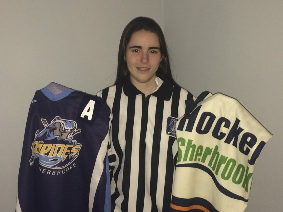 Annabelle Marcotte est une excellente hockeyeuse, mais la... (Fournie)