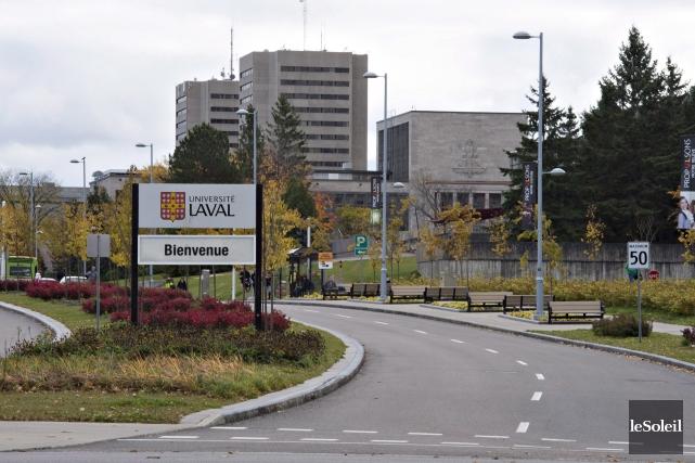 L'Université Laval... (Photothèque Le Soleil)
