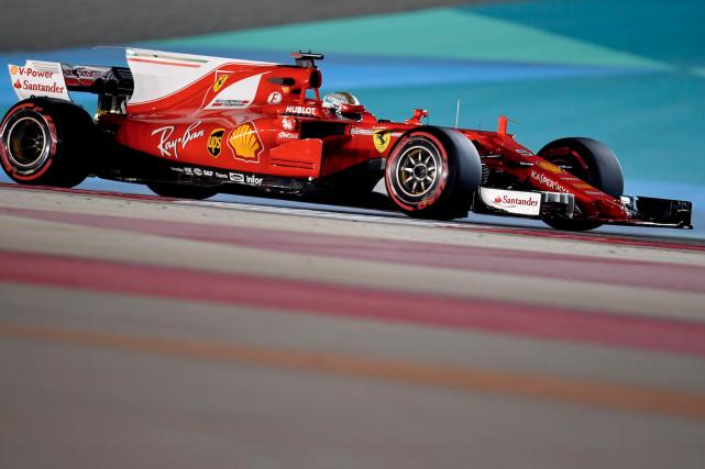 Le pilote allemand Sebastian Vettel a dominé les... (AFP, ANDREJ ISAKOVIC)