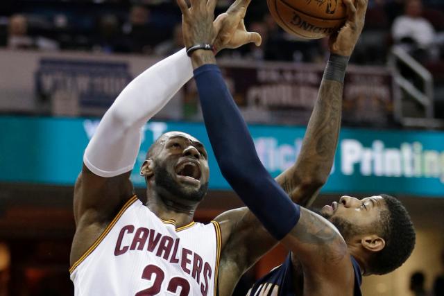 La première ronde des séries de la NBA... (AP, Tony Dejak)