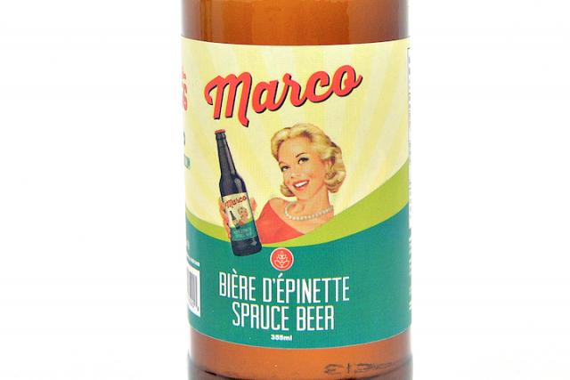 Certains se souviendront de la bière d'épinette Marco, un produit québécois qui...