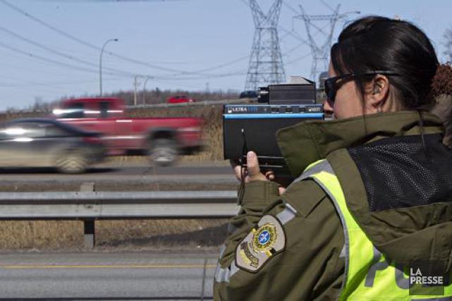 De nombreuses opérations policières seront menées au Québec... (Photo Patrick Sanfaçon, Archives La Presse)
