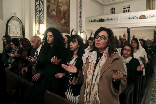 L'Église a annoncé que les célébrations de Pâques... (AP, Julie Jacobson)