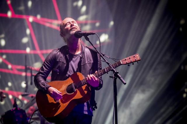 Radiohead a interprété la quasi totalité de deux... (AP, Amy Harris)