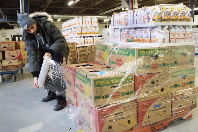 L'année dernière, Moisson Montréal a distribué plus de... (Photo Ryan Remiorz, archives La Presse canadienne)
