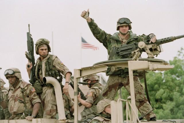 Ce n'est pas la première fois que l'armée... (Photo Denis Pauqin, AP)