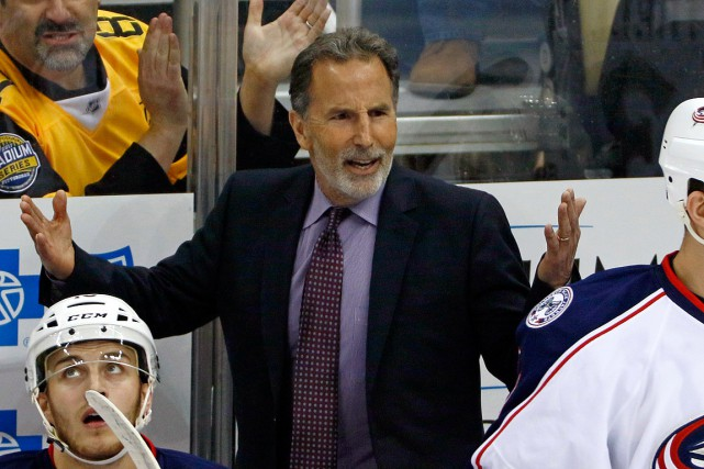 John Tortorella, qui est reconnu pour avoir la... (PHOTO GENE J. PUSKAR, ASSOCIATED PRESS)