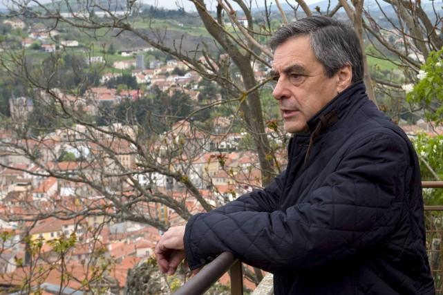 François Fillon s'est rendu àLe Puy-en-Velay, dans le... (AFP, Thierry Zoccolan)