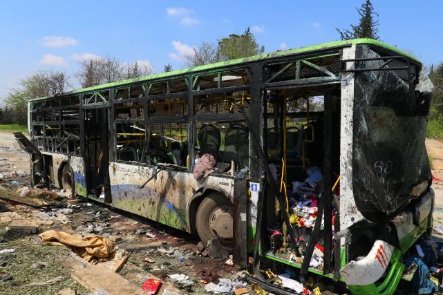 L'attaque, qui n'a pas encore été revendiquée, est... (Photo Ammar Abdullah, REUTERS)