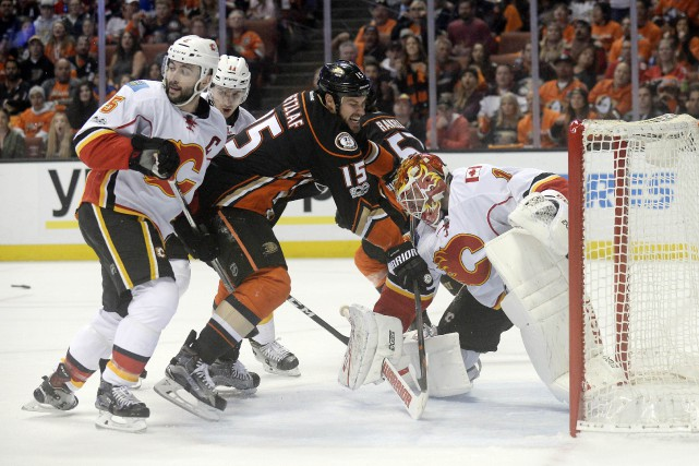 Ryan Getzlaf (15)... (Photo Gary A. Vasquez, USA Today Sports)