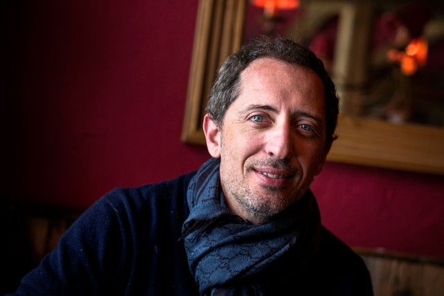 Gad Elmaleh... (Photo Jeff Pachoud, archives Agence France-Presse)