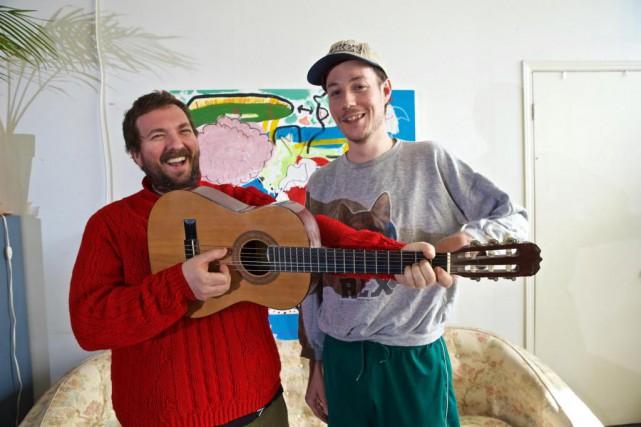 Beaver Sheppard et David Whitten forment le duo... (Photo André Pichette, La Presse)