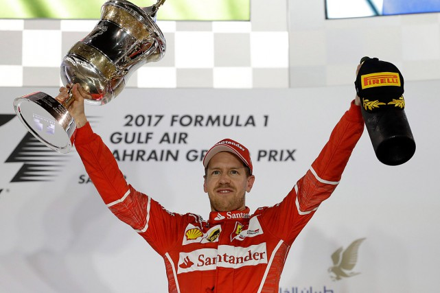 Grâce à sa victoire, Sebastian Vettel a repris... (Photo Luca Bruno, ASSOCIATED PRESS)