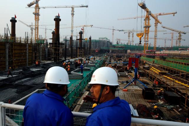 Chine la croissance s 39 acc l re au premier trimestre international - Produit brut interieur ...