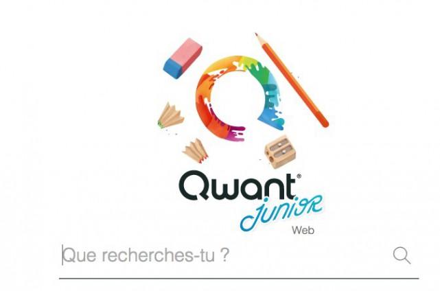 Letélédiffuseur TFO s'est associé avec la société française... (Capture d'écran du site Qwant Junior)