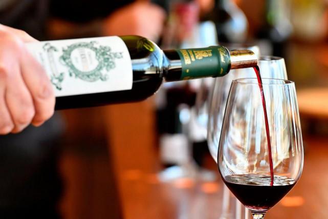Le vignoble de Bordeaux a été la région... (PhotoGEORGES GOBET, Agence France-Presse)