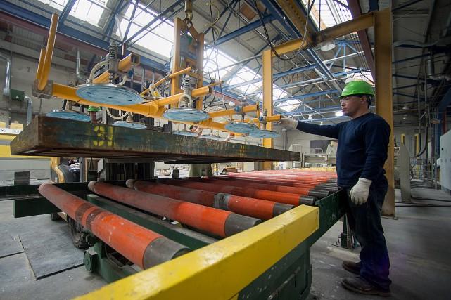 L'activité manufacturière dans la région de New York a chuté en avril pour... (Photo Craig Warga, archives Bloomberg)