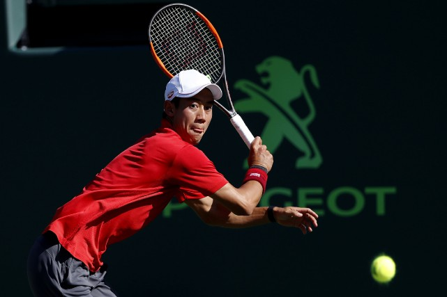 Kei Nishikori... (Photo Geoff Burke, USA Today Sports)