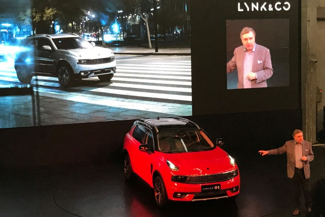 Lynk & Co, une filiale du constructeur chinois... (photo REUTERS)