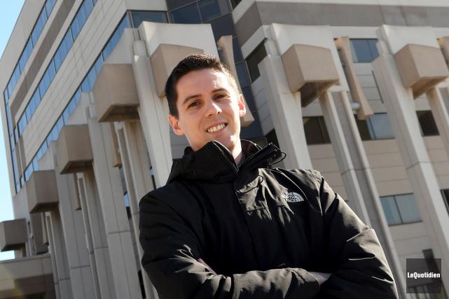 L'étudiant au doctorat en psychologie à l'UQAC, Mathieu... (Le Quotidien, Rocket Lavoie)