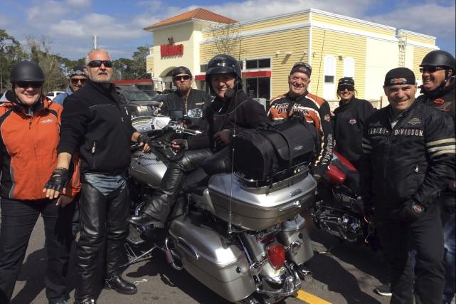 Le Club Moto Saguenay, fondé en 1955, est... (Courtoisie)
