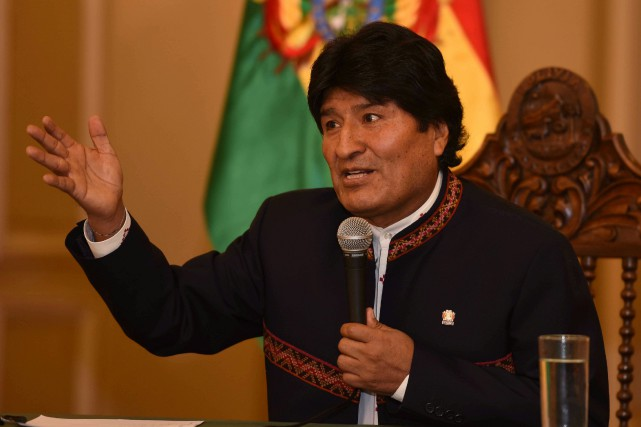 Evo Morales... (PHOTO REUTERS)
