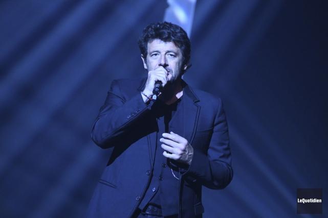 Patrick Bruel a livré une performance remplie d'émotions,... (Le Quotidien, Michel Tremblay)
