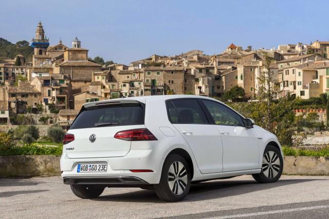 Volkswagen e-Golf... (fournie par Volkswagen)