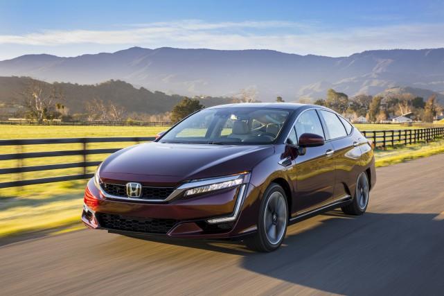 Honda a commencé à louer sa berline à... (fournie par Honda)