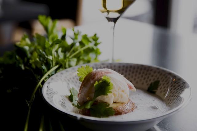 Le dessert proposé par le chef rimouskois Philippe... (fournie par Antoine Proulx)