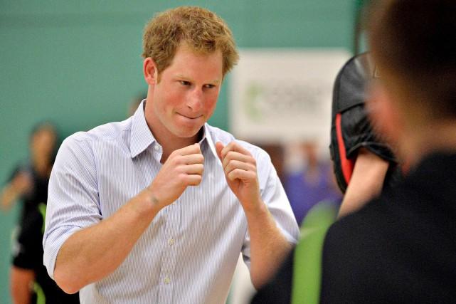 Le prince Harry s'est confié au quotidienThe Telegraph.... (AFP, Jamie Simpson)
