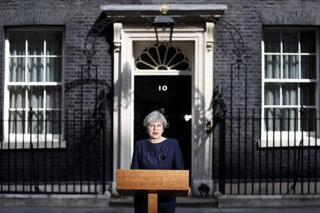 Theresa May,chef du gouvernement conservateur, en poste depuis... (REUTERS)