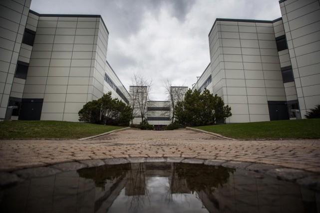 Les bureaux administratifs du Centre intégré de santé... (Photo Olivier PontBriand, La Presse)