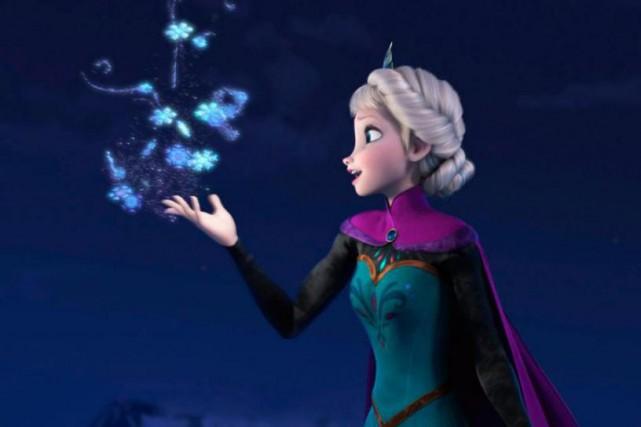 Le film d'animation Frozen est en voie d'être... (IMAGE FOURNIE PAR DISNEY, ARCHIVES ASSOCIATED PRESS)