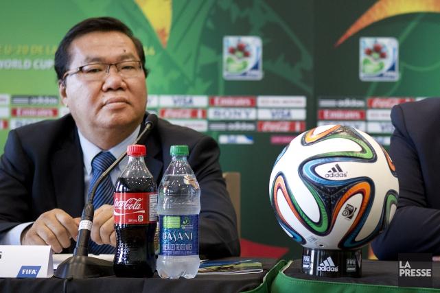 Le vice-président de la FIFA pour l'Océanie, David... (Photo Robert Skinner, archives La Presse)