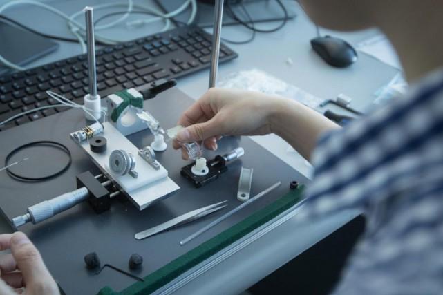 Avec le début de la commercialisation, l'entreprise devrait... (Photo Ivanoh Demers, La Presse)