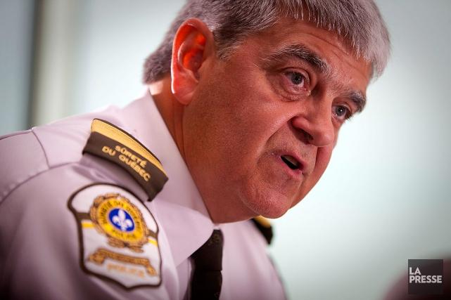 L'ex-directeur général de la Sûreté du Québec, Richard... (André Pichette, archives La Presse)