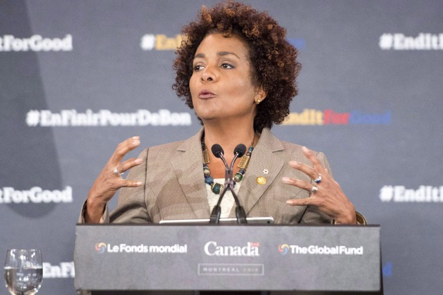 Michaëlle Jean... (Archives La Presse canadienne)