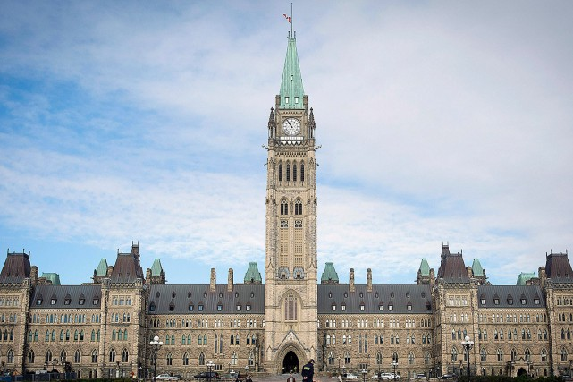 Le Parlement du Canada, à Ottawa.... (PETER MCCABE, archives AFP)