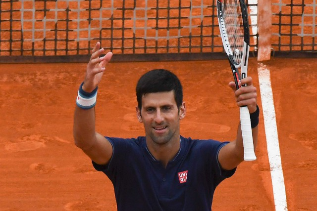 Novak Djokovic... (Photo Yann Coatsaliou, AFP)