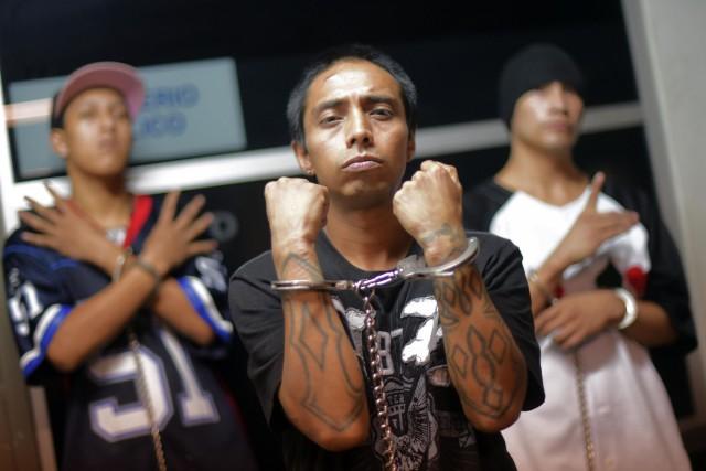 Le gang Mara Salvatrucha a été fondé à... (ARCHIVES AFP)