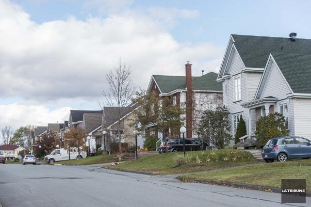 Le marché de l'immobilier de Sherbrooke a connu... (Archives, La Tribune)