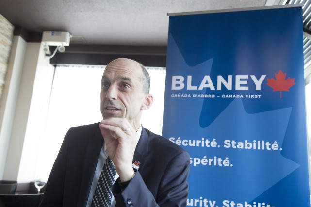Steven Blaney... (Spectre Média, René Marquis)