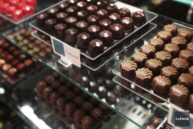 La chocolaterie Rochef de Gatineau fait plus que brasser du cacao, elle brasse... (Etienne Ranger, Le Droit)